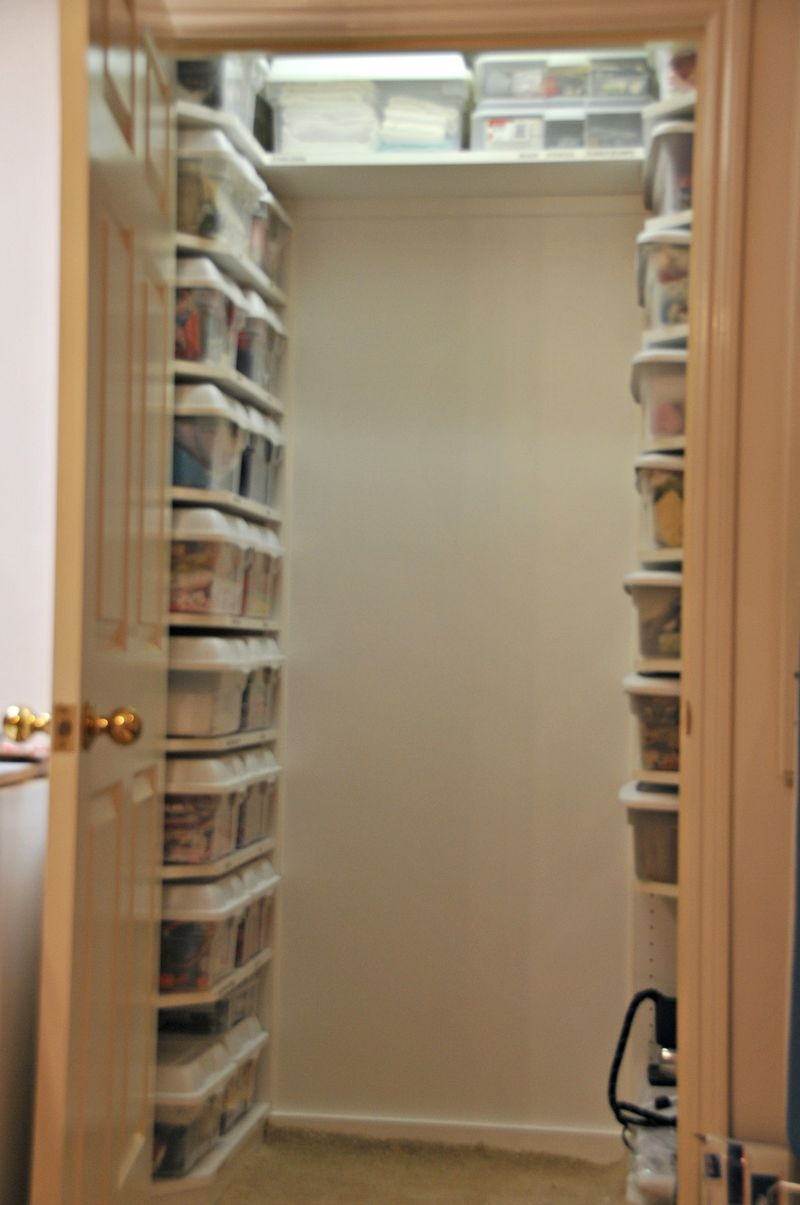 Small Bedroom Closet Storage Closet Sewing Room Closet Storage Organization